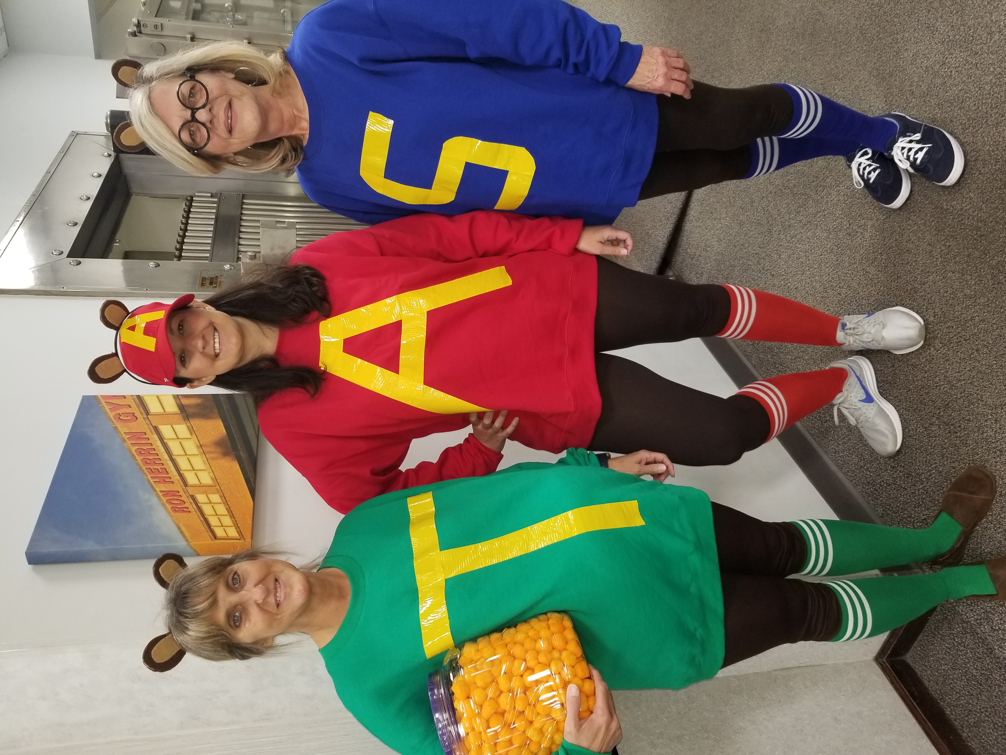 FNBO Employees dressed in costume