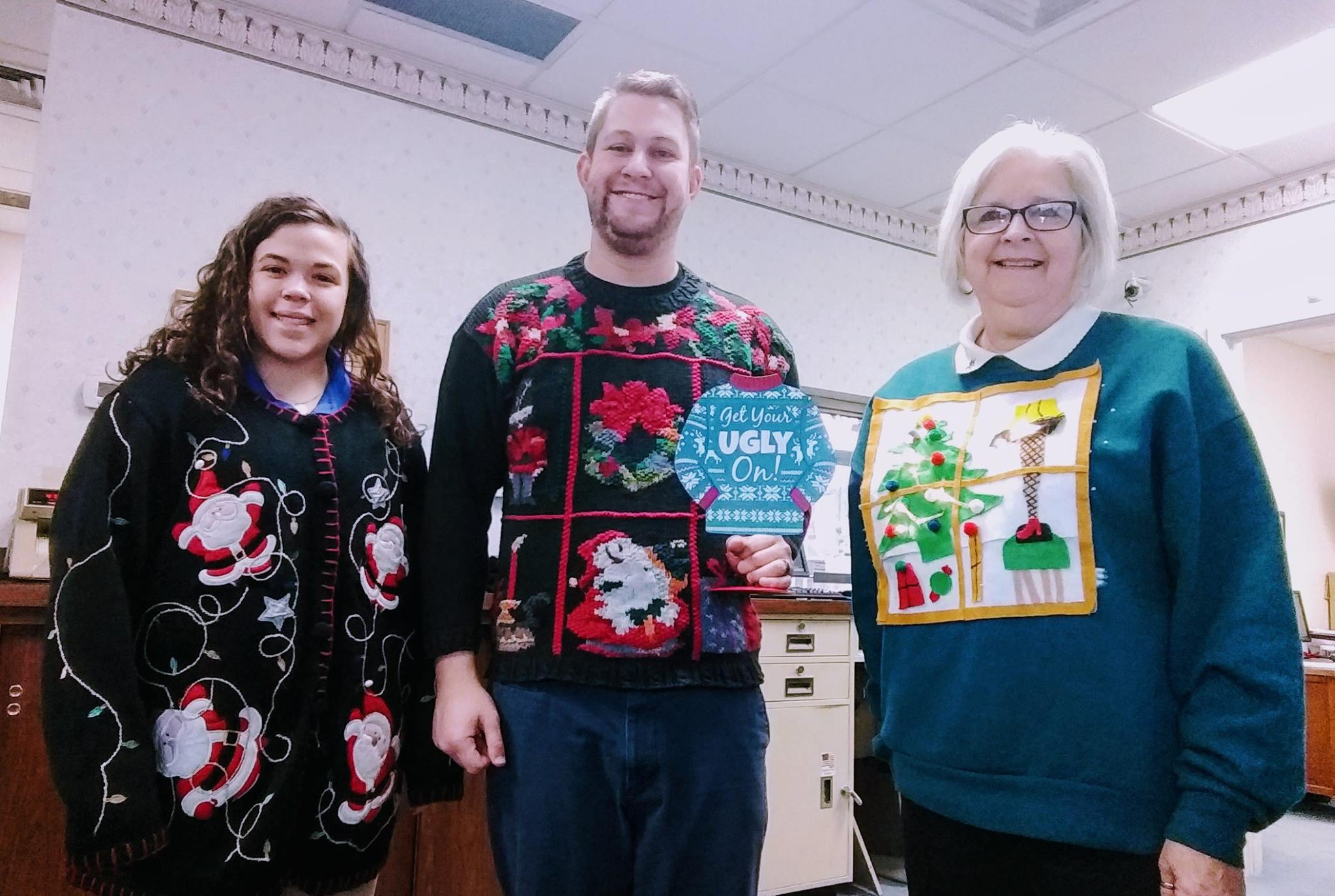 Whittle Ugly Christmas Sweater Day 2017