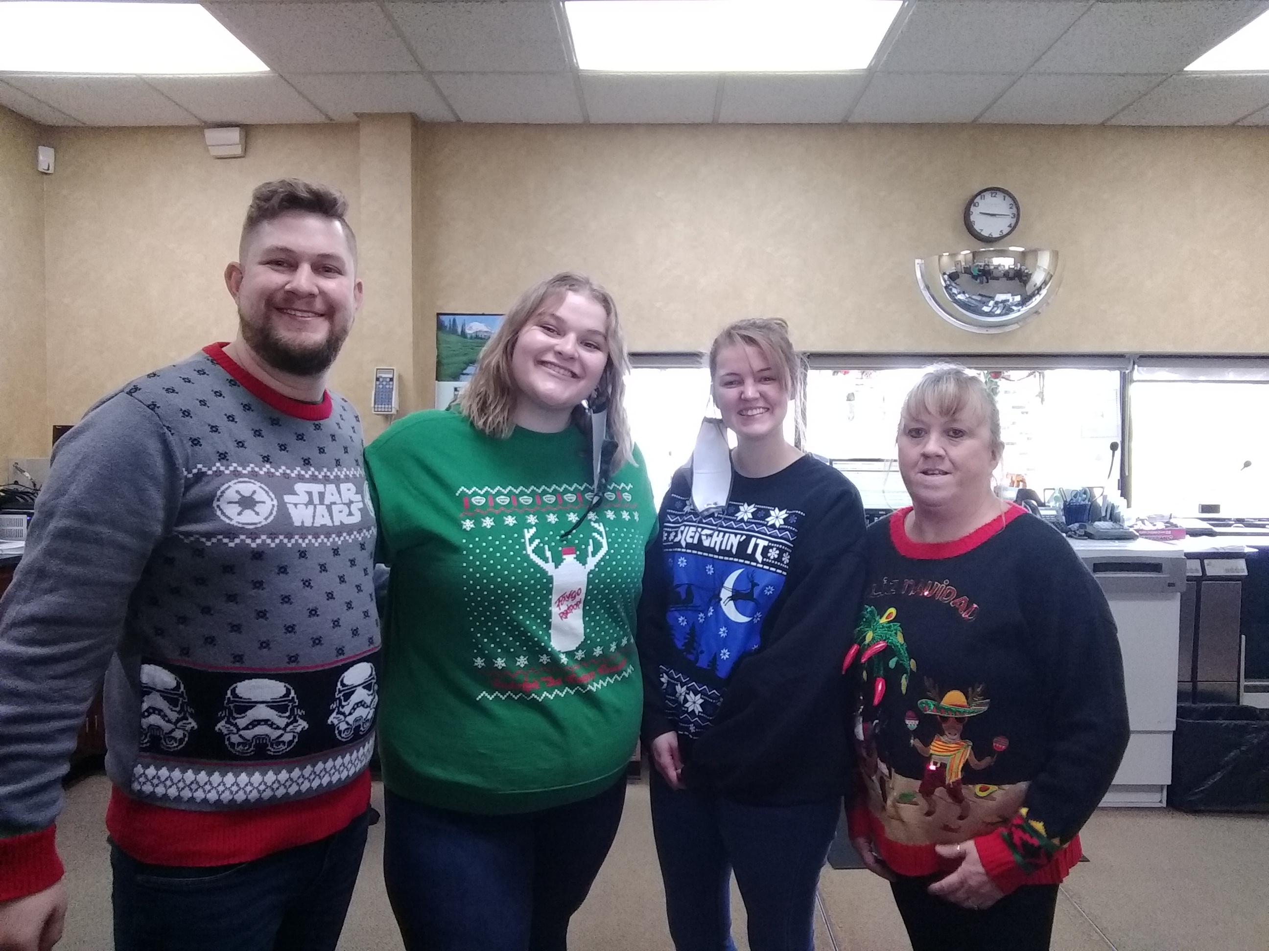 Ugly Christmas Sweater Day
